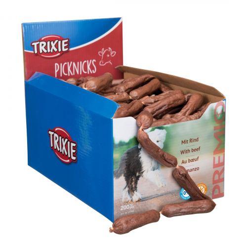 Лакомство для собак Trixie PREMIO Picknicks сосиски 200 шт. (говядина)