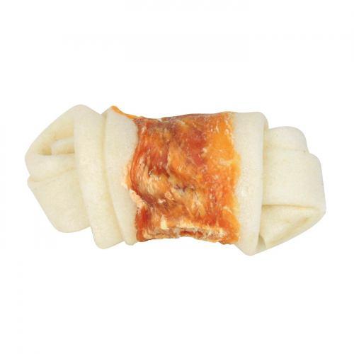 Ласощі для собак Trixie Кістка для чищення зубів з куркою Denta Fun 5 см (5 шт.)