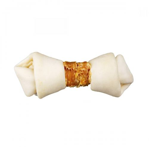 Лакомство для собак Trixie Кость для чистки зубов с курицей Denta Fun 11 см (2 шт.)