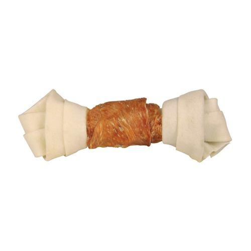 Ласощі для собак Trixie Кістка для чищення зубів з куркою Denta Fun 18 см 120 г