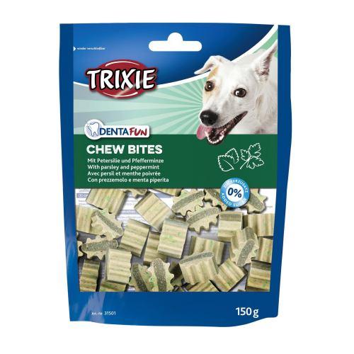 Лакомство для собак Trixie Denta Fun Chew Bites 150 г (петрушка и мята)
