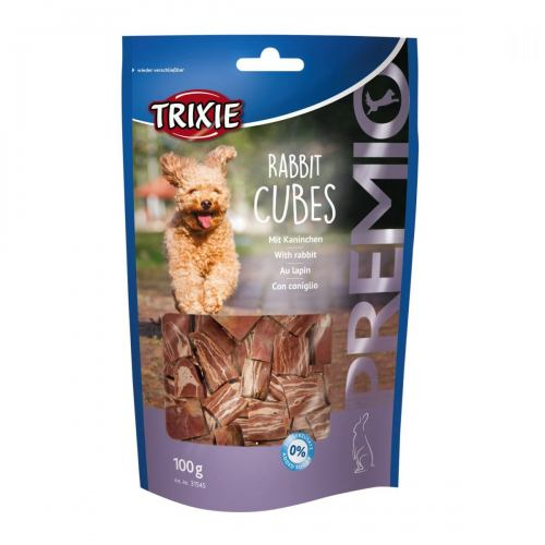 Ласощі для собак Trixie PREMIO Rabbit Cubes 100 г (кролик)