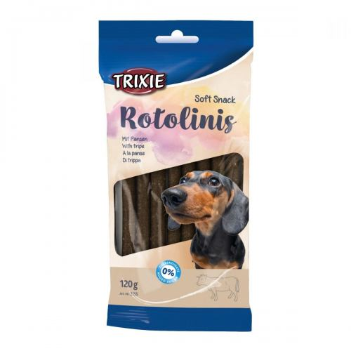 Ласощі для собак Trixie Rotolinis 120 г (рубець)