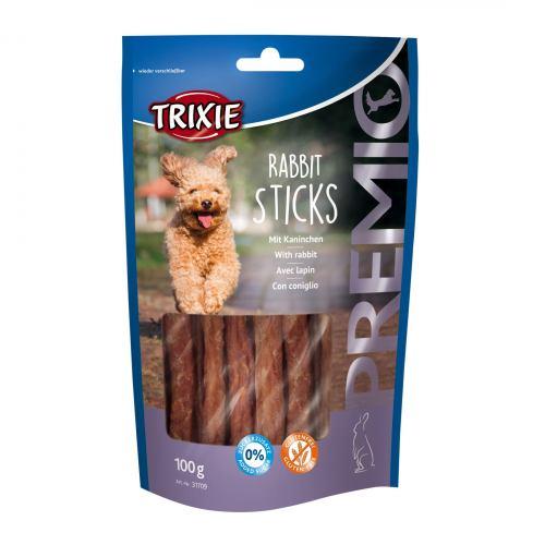 Ласощі для собак Trixie PREMIO Rabbit Sticks 100 г (кролик)