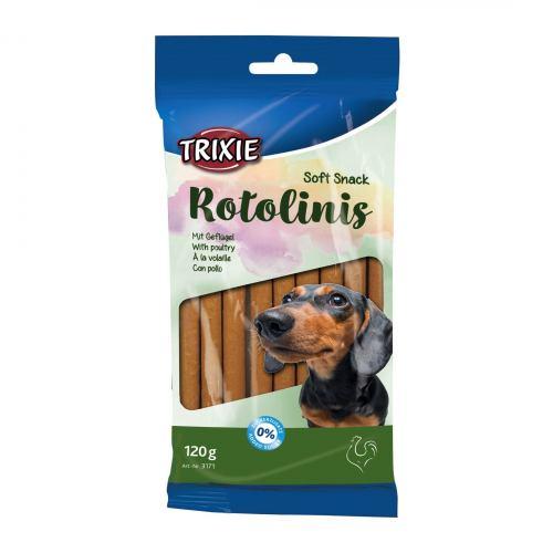 Ласощі для собак Trixie Rotolinis 120 г (домашня птиця)