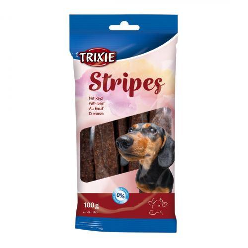 Ласощі для собак Trixie Stripes Light 100 г (яловичина)