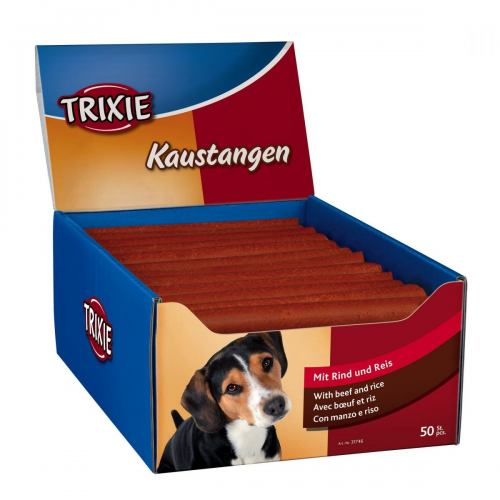 Лакомство для собак Trixie Палочки 50 шт. (говядина)