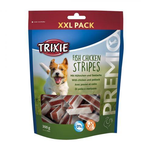 Лакомство для собак Trixie PREMIO Chicken and Pollock Stripes 300 г (курица и рыба)