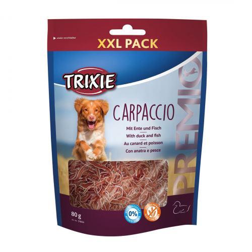 Ласощі для собак Trixie PREMIO Carpaccio 80 г (качка та риба)