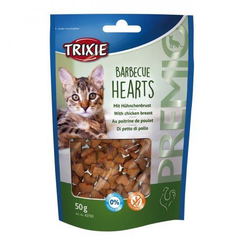 Ласощі для котів Trixie PREMIO Barbecue Hearts 50 г (курка)