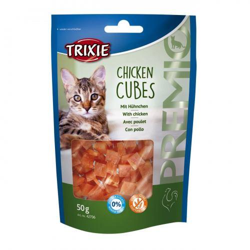 Лакомство для кошек Trixie PREMIO Chicken Cubes 50 г (курица)