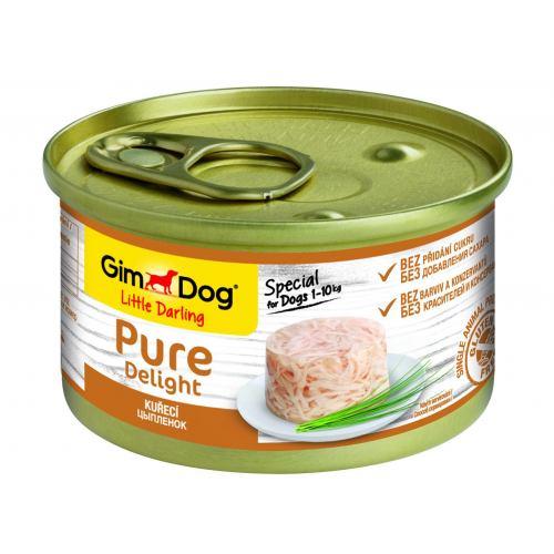 Влажный корм для собак GimDog LD Pure Delight 85 г (курица)