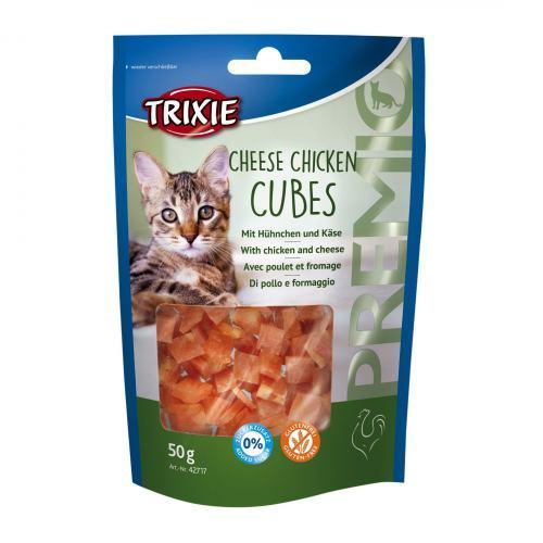 Лакомство для кошек Trixie PREMIO Cheese Chicken Cubes 50 г (курица)