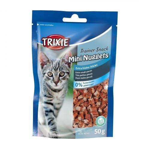 Лакомство для кошек Trixie Trainer Snack Mini Nuggets 50 г (курица и рыба)