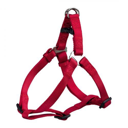 Шлея-петля Trixie нейлонова «Premium» XS-S 30-40 см / 10 мм (червона)