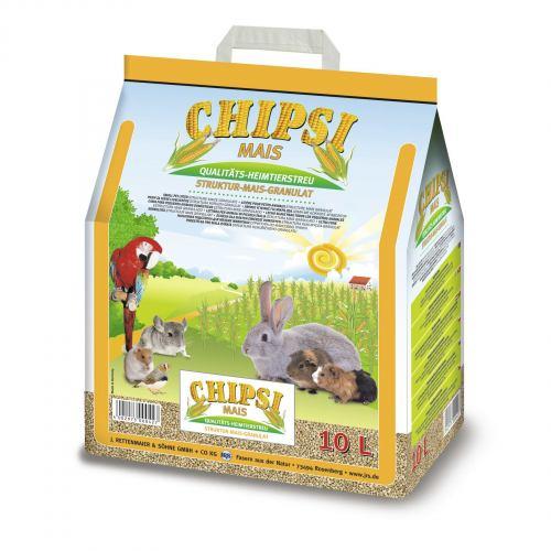 Гигиенический наполнитель Rettenmaier Chipsi Mais 10 л (кукурузный)