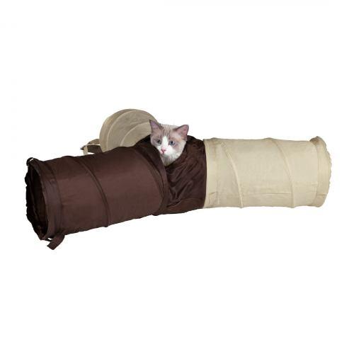 Игрушка для кошек Trixie Тоннель игровой d:22 см / 50 см (нейлон, в цветовом ассортименте)