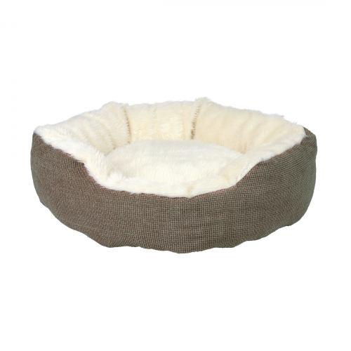 Лежак Trixie «Yuma» d:45 см (коричневый)