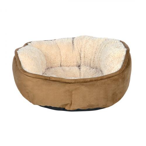 Лежак Trixie «Othello» d:60 см (коричневий)