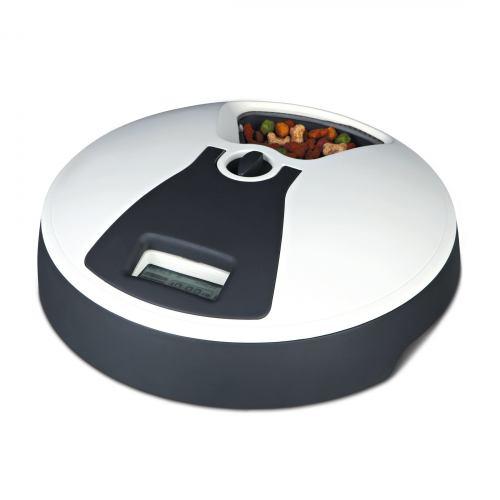 Автоматична годівниця Trixie «TX6» 6 x 240 мл / d:32 см / h:10 см (чорно-біла)