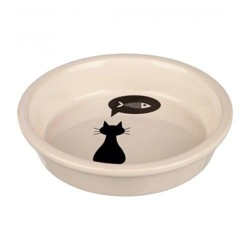 Миска керамічна Trixie 250 мл / 13 см (кремова)