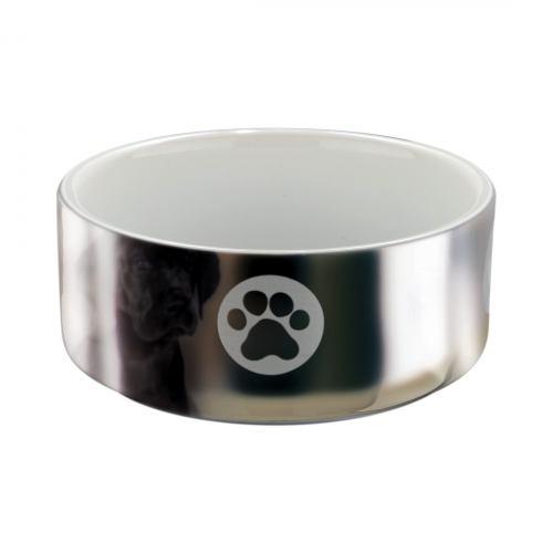 Миска керамічна Trixie 300 мл / 12 см (срібляста)