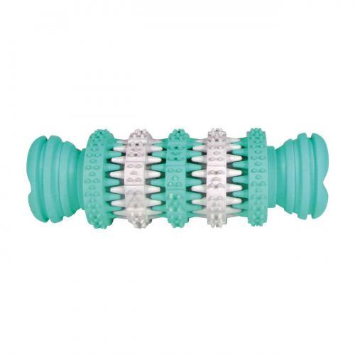 Игрушка для собак Trixie Кость-катушка «Denta Fun» 11 см (резина)