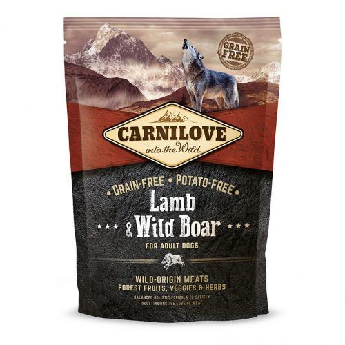 Сухий корм для дорослих собак всіх порід Carnilove Lamb & Wild Boar 1,5 кг (ягня та кабан)