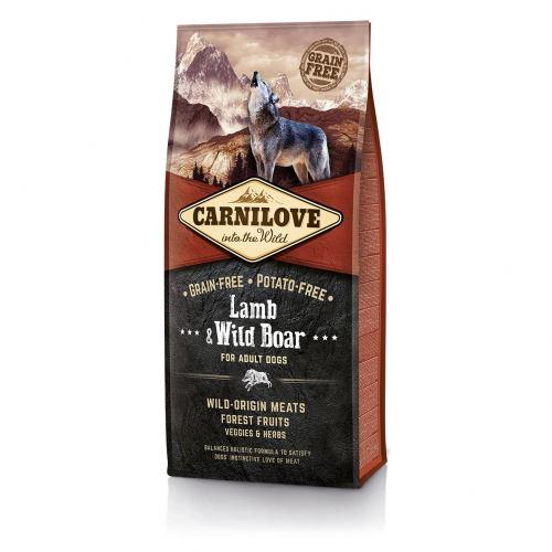 Сухий корм для дорослих собак всіх порід Carnilove Lamb & Wild Boar 12 кг (ягня та кабан)