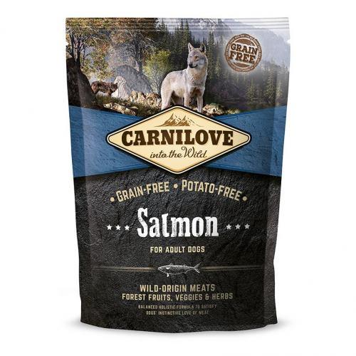 Сухой корм для взрослых собак всех пород Carnilove Salmon Adult 1,5 кг (лосось)