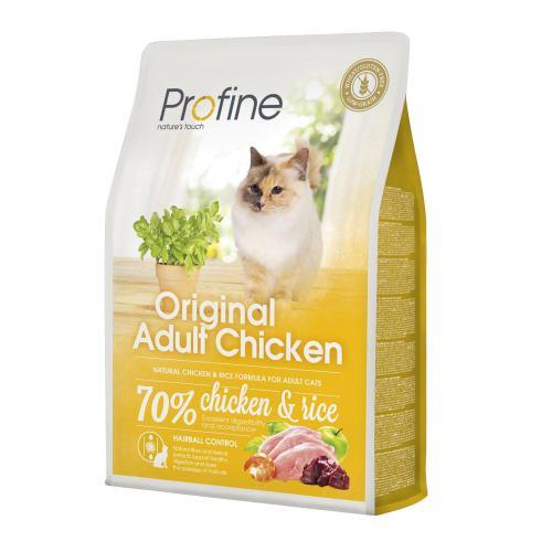 Сухой корм для взрослых кошек Profine Cat Original Adult 2 кг (курица)