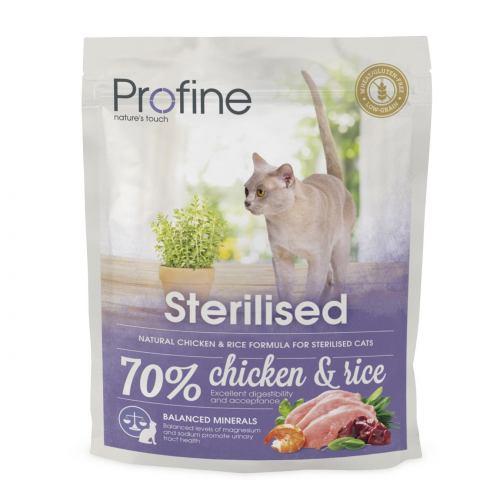 Сухий корм для стерилізованих котів Profine Cat Sterilised 300 г (курка)