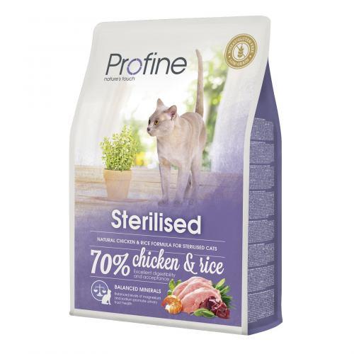 Сухий корм для стерилізованих котів Profine Cat Sterilised 2 кг (курка)