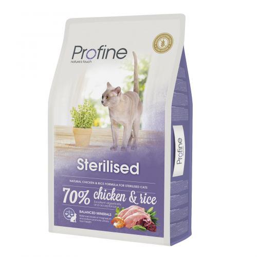 Сухий корм для стерилізованих котів Profine Cat Sterilised 10 кг (курка)