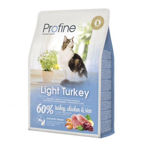 Сухий корм для котів із зайвою вагою Profine Cat Light 2 кг (індичка та курка)