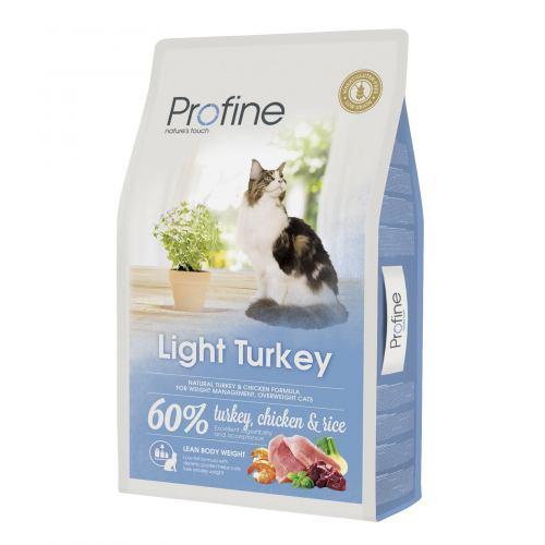 Сухий корм для котів із зайвою вагою Profine Cat Light 10 кг (індичка та курка)