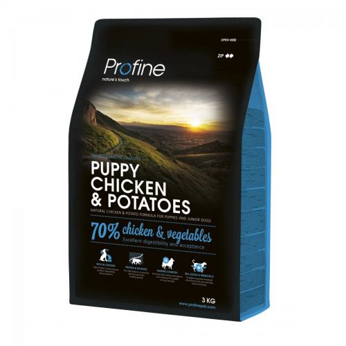 Сухой корм для щенков всех пород Profine Puppy Chicken 3 кг (курица)