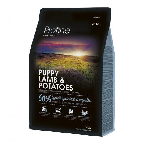 Сухой корм для щенков всех пород Profine Puppy Lamb 3 кг (ягненок)