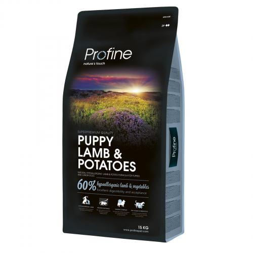 Сухой корм для щенков всех пород Profine Puppy Lamb 15 кг (ягненок)