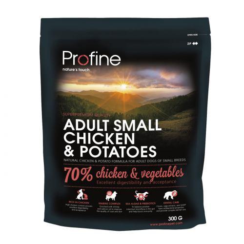 Сухий корм для дорослих собак дрібних порід (вагою до 10 кг) Profine Adult Small 300 г (курка)