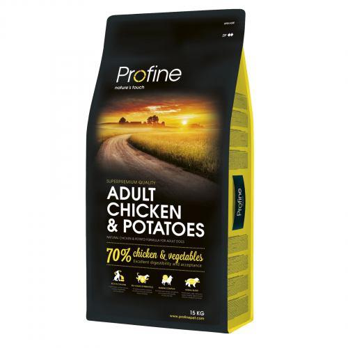 Сухой корм для взрослых собак всех пород Profine Adult Chicken 15 кг (курица)