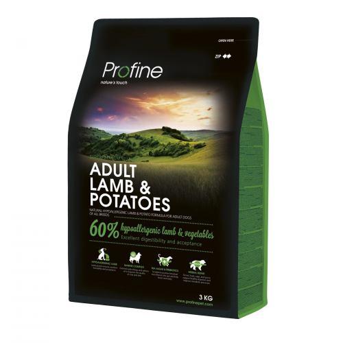 Сухой корм для взрослых собак всех пород Profine Adult Lamb 3 кг (ягненок)