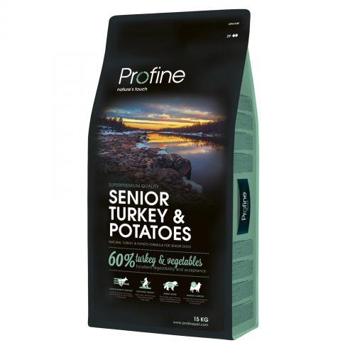 Сухой корм для пожилых собак всех пород Profine Senior Turkey 15 кг (индейка)