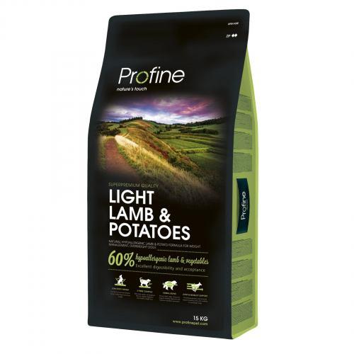 Сухой корм для собак с лишним весом Profine Light Lamb 15 кг (ягненок)
