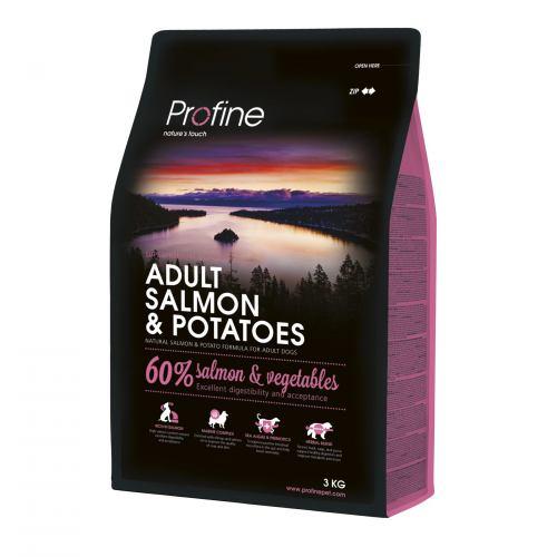 Сухой корм для взрослых собак всех пород Profine Adult Salmon 3 кг (лосось)